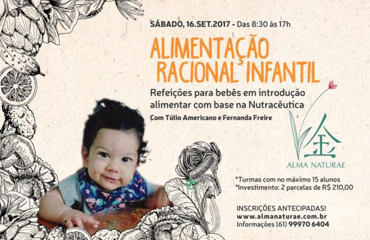 Alimentação Racional Infantil (inscrições abertas!)